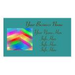 Extracto colorido plantilla de tarjeta de visita