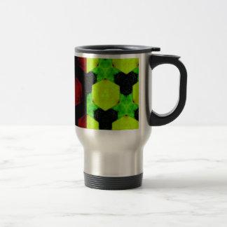 Extracto colorido taza de viaje de acero inoxidable