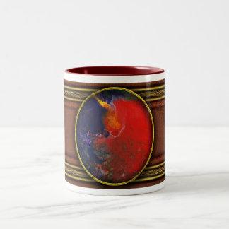 Extracto - creyón - Andromeda Tazas De Café