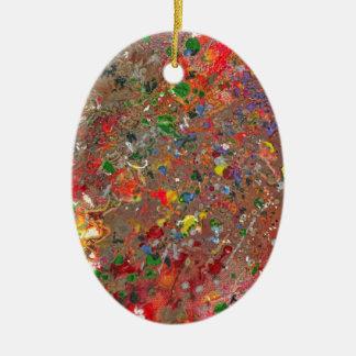 Extracto - creyón - la venganza de Montazuma Ornamentos De Reyes