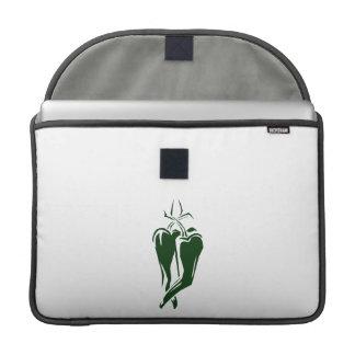 extracto de baile de la pimienta de chile dos funda para macbooks