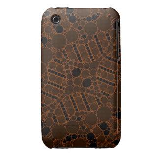 Extracto de Brown oscuro Case-Mate iPhone 3 Fundas