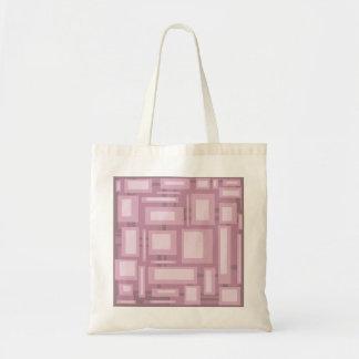 Extracto de color de malva moderno bolsa tela barata