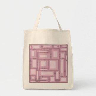 Extracto de color de malva moderno bolsa tela para la compra
