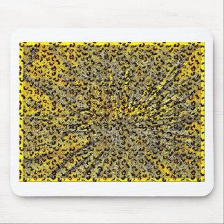 Extracto de cristal de Martini del estampado leopa Alfombrilla De Ratones