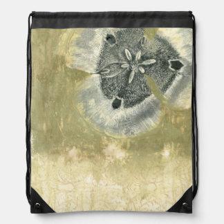 Extracto de Flowerhead con textura esmaltada Mochilas