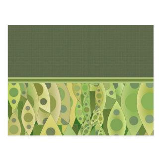 Extracto de Gliftex de los guisantes verdes de Tarjeta Postal