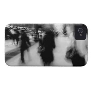 Extracto de la calle de NYC iPhone 4 Case-Mate Cárcasas