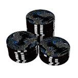 Extracto de la ciencia ficción juego de fichas de póquer