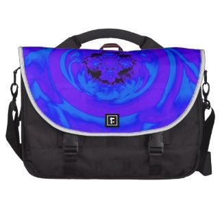 Extracto de la dalia azul púrpura bolsas de portátil