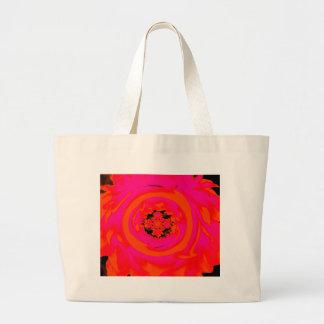 Extracto de la dalia naranja rosado bolsas