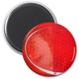 Extracto de la luz roja imán redondo 5 cm