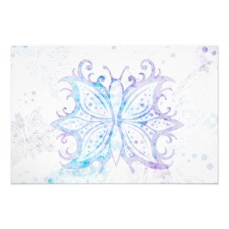 Extracto de la mariposa de la impresión de la foto fotografía