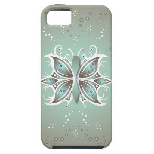 extracto de la mariposa del caso del iPhone 5 iPhone 5 Carcasa