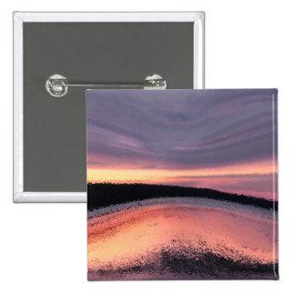 Extracto de la ola oceánica de la puesta del sol pin