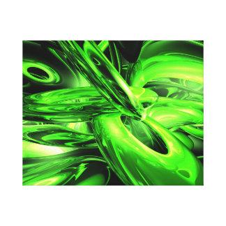 Extracto de la radiación gamma impresion de lienzo