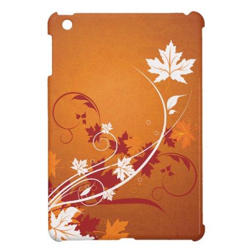 Extracto de las hojas de otoño iPad mini cárcasas