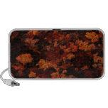 Extracto de las hojas de otoño iPod altavoces