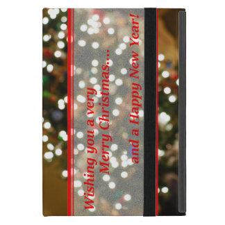 Extracto de las luces de navidad iPad mini carcasa