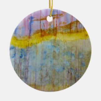 Extracto de las naturalezas adorno redondo de cerámica