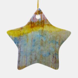 Extracto de las naturalezas adorno de cerámica en forma de estrella