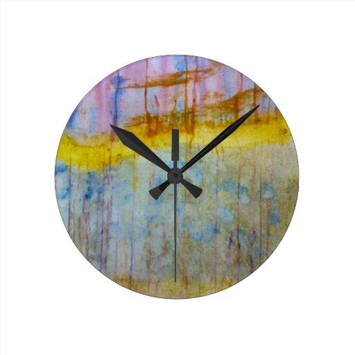 Extracto de las naturalezas reloj redondo mediano