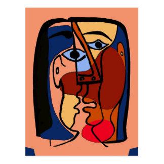Extracto de los besos tarjetas postales