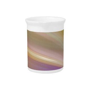 Extracto de los colores en colores pastel jarras de beber