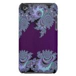 Extracto de medianoche violeta oscuro del fractal iPod touch cárcasa