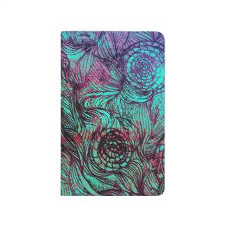 Extracto de neón de los Tendrils Cuadernos Grapados