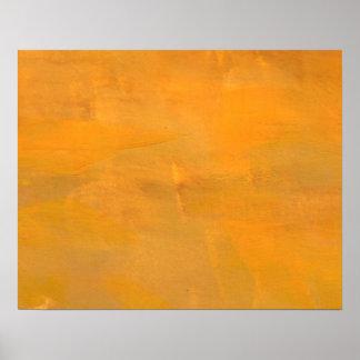 Extracto de oro pintado del Grunge Póster