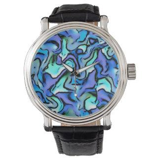 Extracto de PERCY, azul Relojes