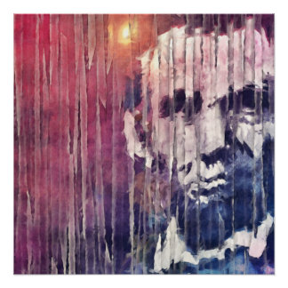 Extracto de presidente Abraham Lincoln Perfect Poster