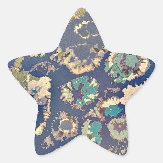 Extracto de Tantum 11 Pegatina En Forma De Estrella