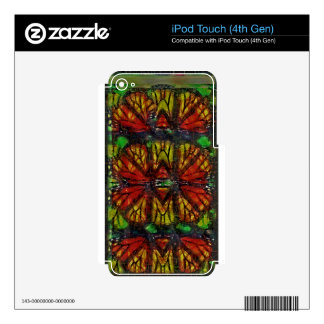 Extracto del ala de la mariposa de monarca iPod touch 4G skin