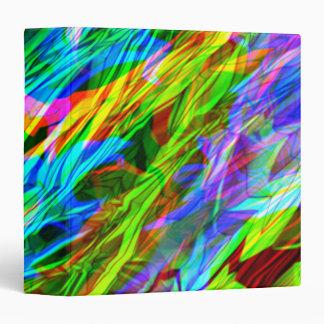 """Extracto del arco iris que brilla intensamente carpeta 1 1/2"""""""