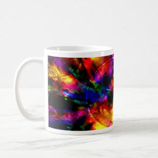 Extracto del arco iris tazas de café