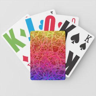 Extracto del arte de Informel de los naipes Baraja Cartas De Poker
