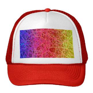 Extracto del arte de Informel del gorra