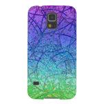 Extracto del arte del Grunge de la caja de la gala Funda De Galaxy S5