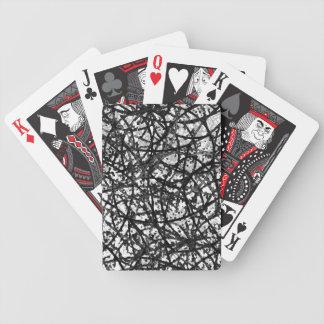 Extracto del arte del Grunge de los naipes Baraja Cartas De Poker