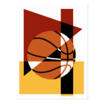 Extracto del baloncesto tarjeta postal
