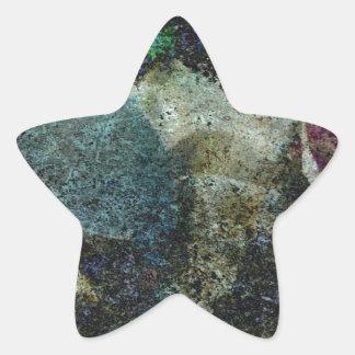 Extracto del Capricornio Pegatina En Forma De Estrella