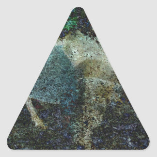 Extracto del Capricornio Pegatina Triangular
