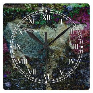 Extracto del Capricornio Reloj Cuadrado