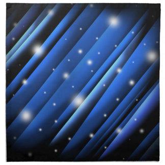 Extracto del cielo nocturno servilletas