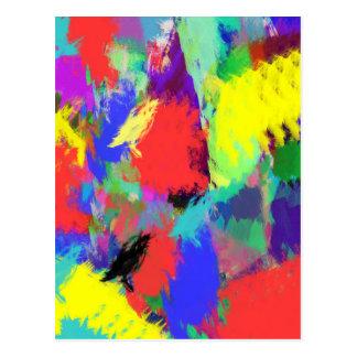 extracto del color (28) postal