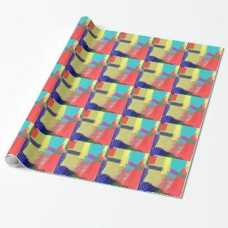 extracto del color (30) papel de regalo
