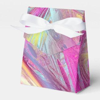 Extracto del color cajas para regalos de boda