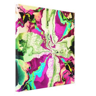 Extracto del color de agua y thro de los modelos lona envuelta para galerias